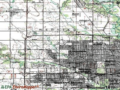 Urbandale topographic map
