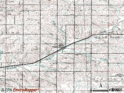 Vail topographic map