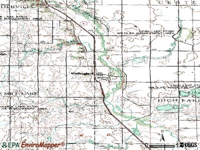 Wallingford topographic map