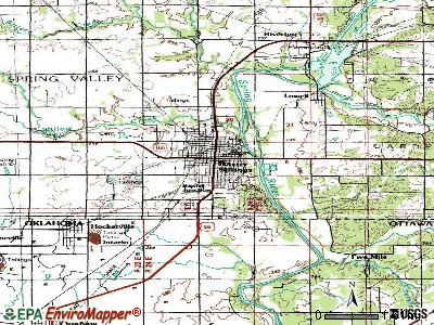 Baxter Springs topographic map