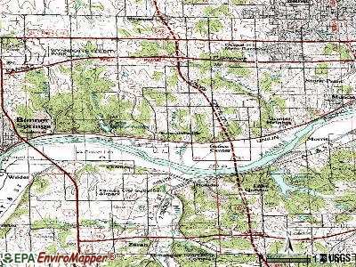 Edwardsville topographic map