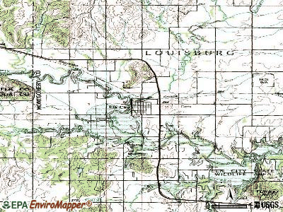 Elk City topographic map