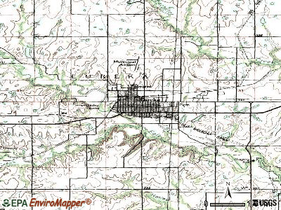 Eureka topographic map