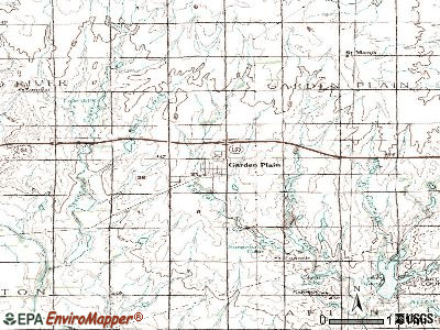Garden Plain topographic map