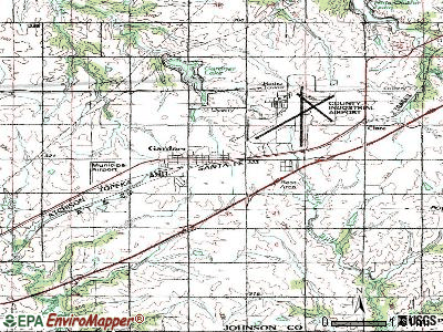 Gardner topographic map