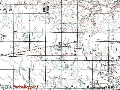 Gorham topographic map