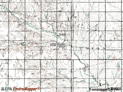 Little River topographic map