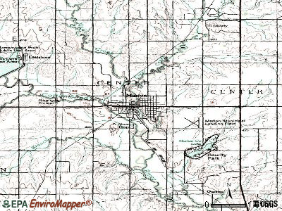 Marion topographic map