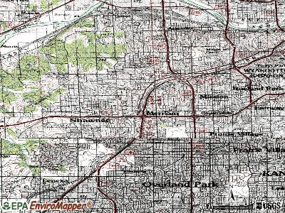 Merriam topographic map