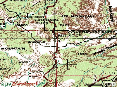 Big Park topographic map