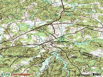 Dawson Springs topographic map