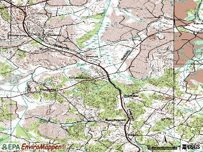 Drakesboro topographic map