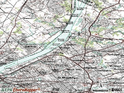 Glenview topographic map