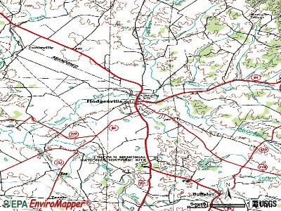 Hodgenville topographic map