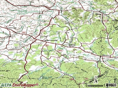 Jeffersonville topographic map