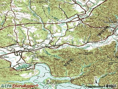 Lakeside Park topographic map