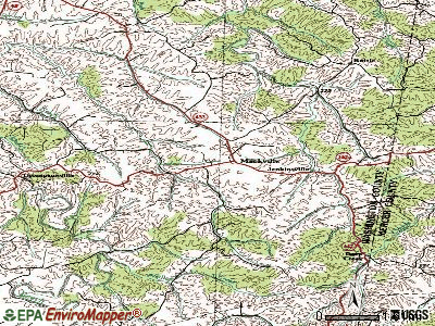 Mackville topographic map