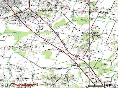 Masonville topographic map