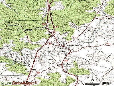 Munfordville topographic map