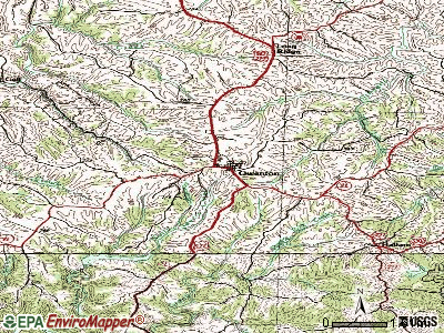 Owenton topographic map