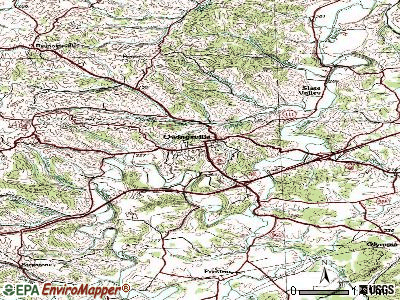 Owingsville topographic map