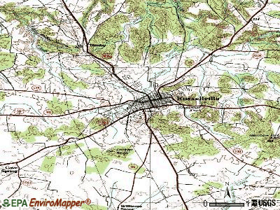 Russellville topographic map