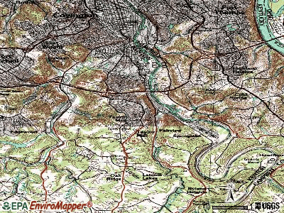 Taylor Mill topographic map