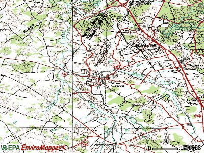 Vine Grove topographic map
