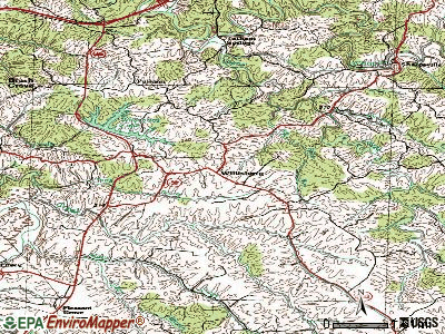 Willisburg topographic map
