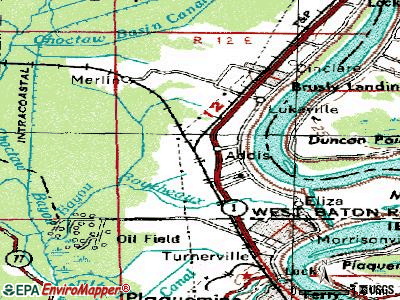 Addis topographic map