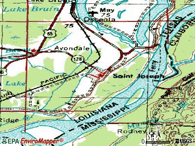 St. Joseph topographic map