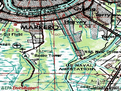 Woodmere topographic map