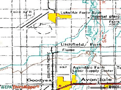 Litchfield Park topographic map