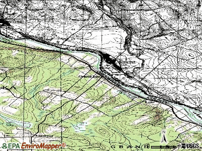 Grand Isle topographic map