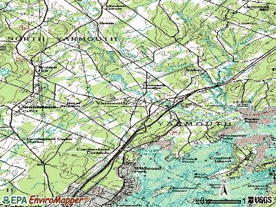 Yarmouth topographic map