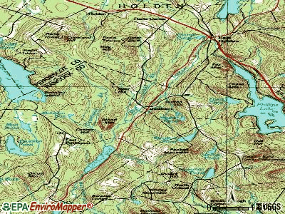 Gouldsboro topographic map