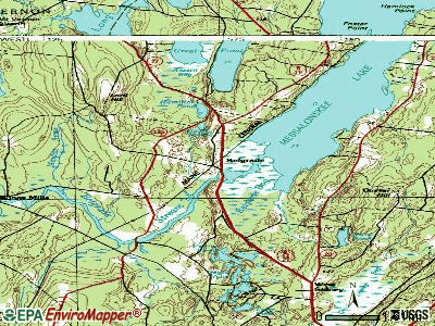 Belgrade topographic map