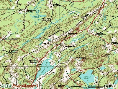 Appleton topographic map