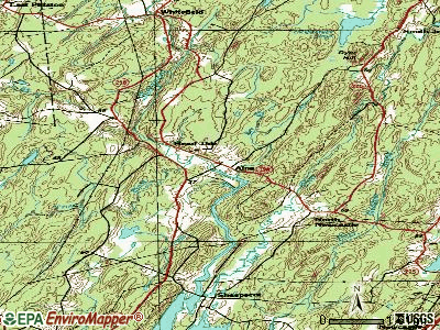 Alna topographic map