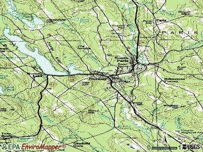 Norway topographic map