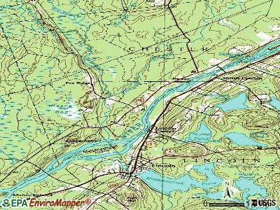 Chester topographic map