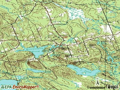 Lee topographic map