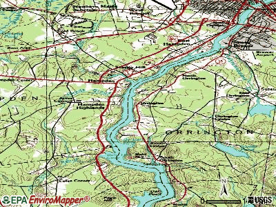 Orrington topographic map