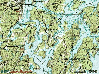 Phippsburg topographic map