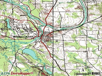 Presque Isle topographic map