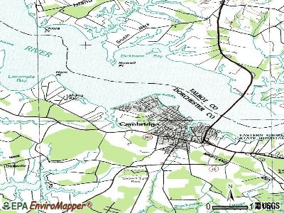 Algonquin topographic map