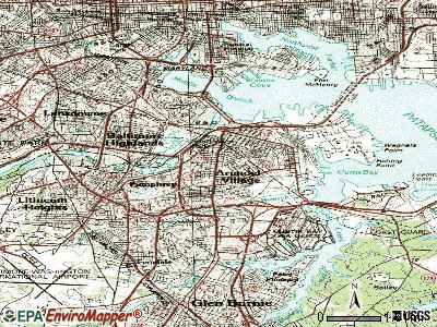 Brooklyn Park topographic map