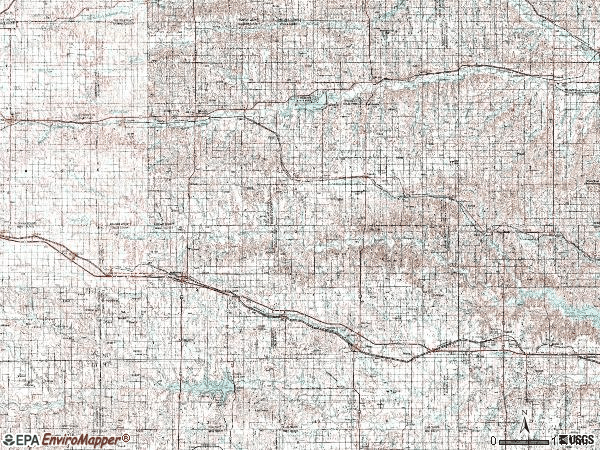 Zip code 00676 topographic map