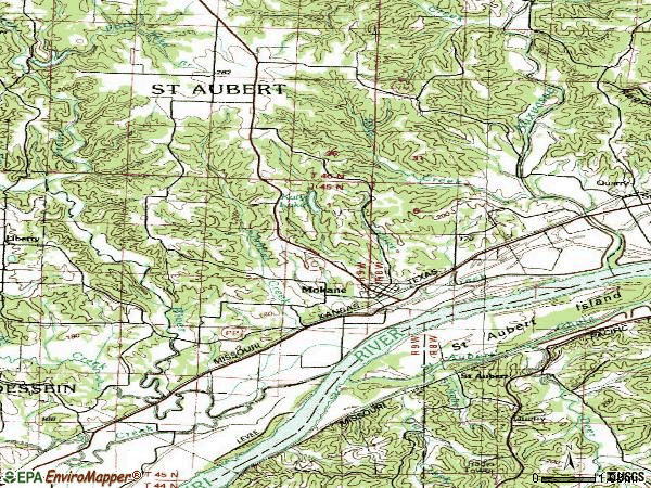 Zip code 65059 topographic map