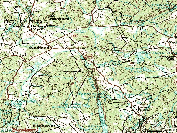 Zip code 10506 topographic map